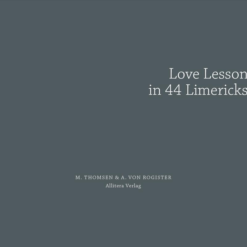 Love Lesson in 44 Limericks