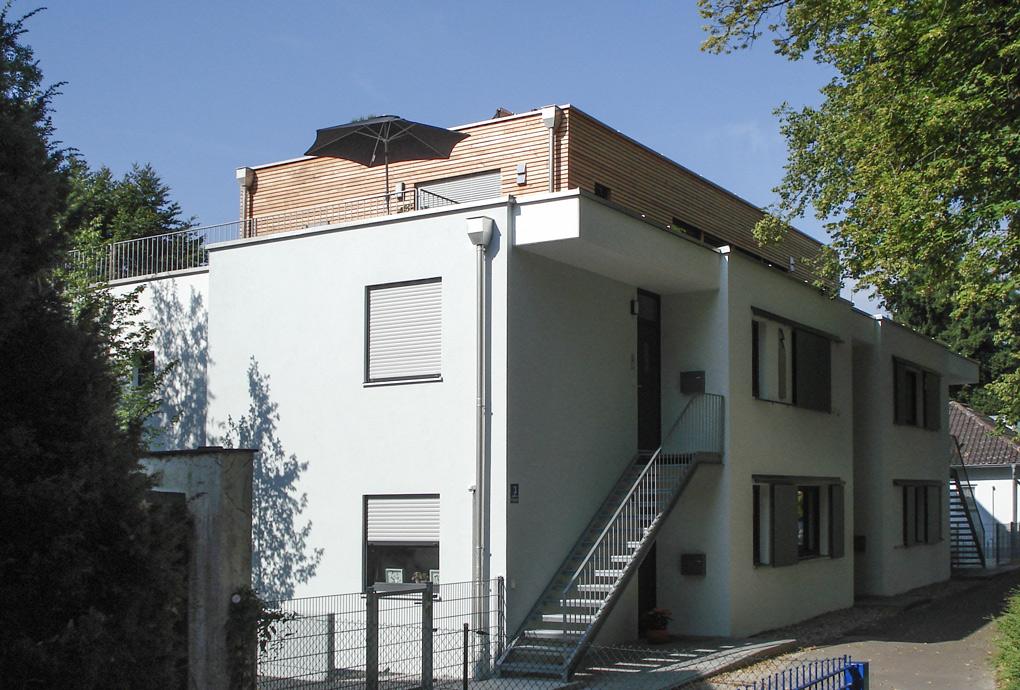 Der Neubau von der Straßenseite